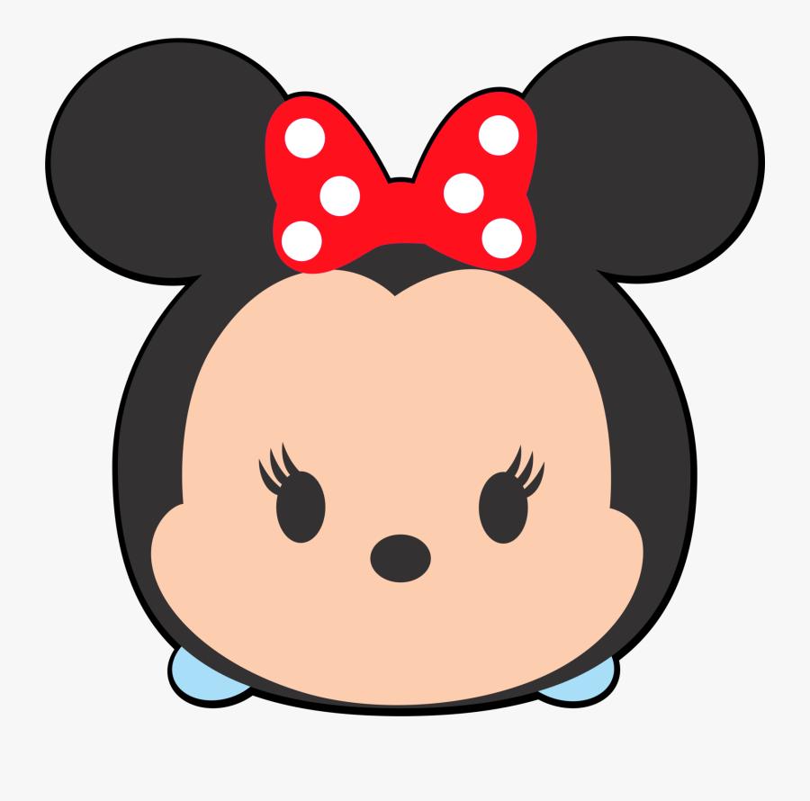 Good Minnie Mouse Clipart Lipstick - Tsum Tsum Minnie Mouse Png, Transparent Clipart