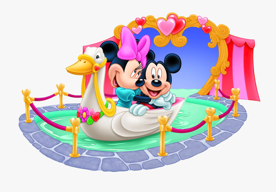 Transparent Mickey Mouse Clipart Png - Mickey And Minnie Mouse Love Png, Transparent Clipart