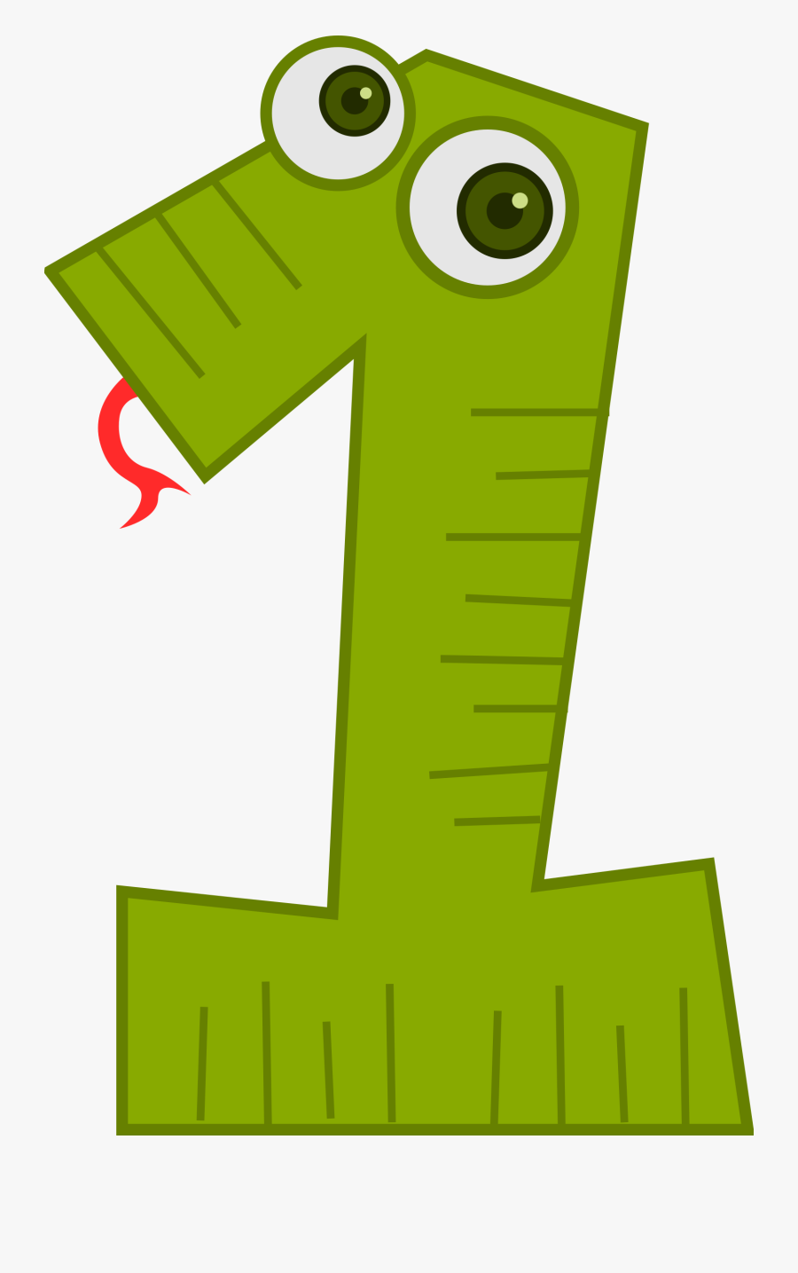 Number Animals 1 - Animal Number 1 Clipart, Transparent Clipart