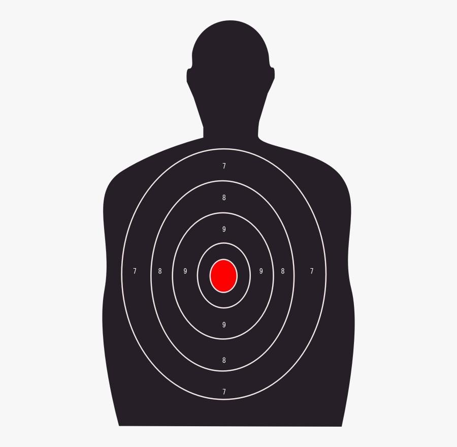 Clip Art Sports Targets Archery Free - Gun Range Target Png, Transparent Clipart