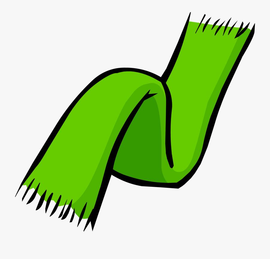 Scarf Clipart Clip Art - Green Scarf Clip Art, Transparent Clipart