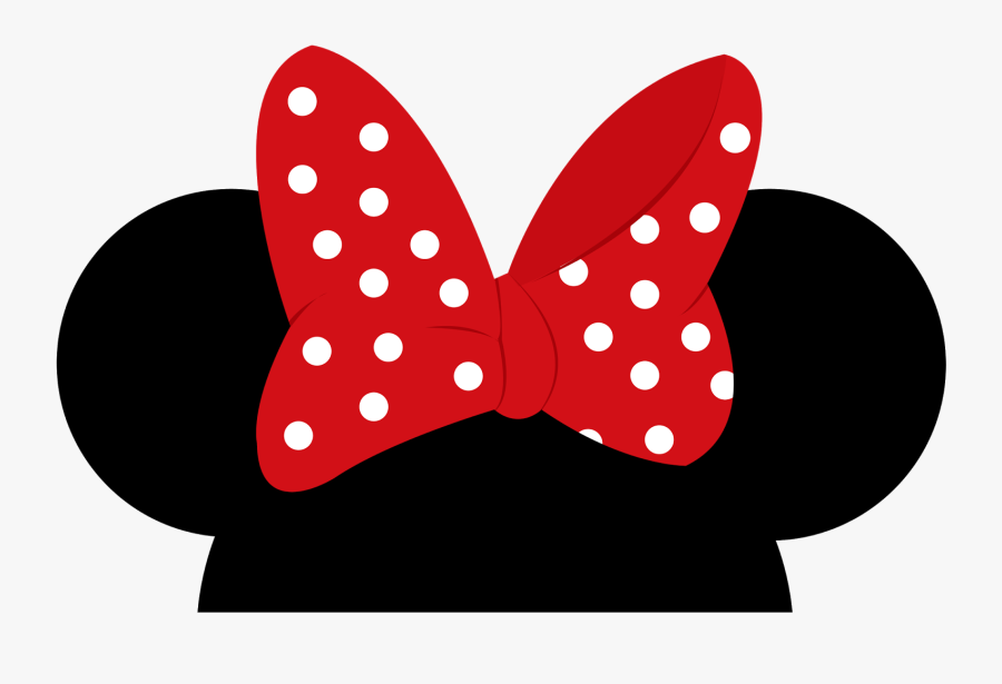 Mickey Mini Png Download - Minnie Mouse Ears Png, Transparent Clipart
