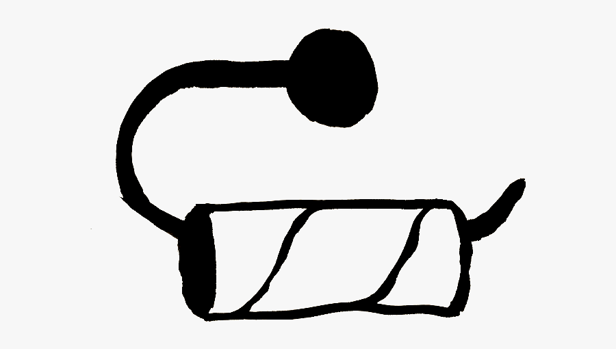Toilet Paper Clipart - Empty Toilet Paper Roll Vector, Transparent Clipart