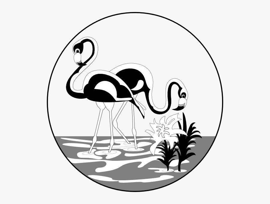 black and white flamingos clip art swan kaki panjang vector free transparent clipart clipartkey black and white flamingos clip art