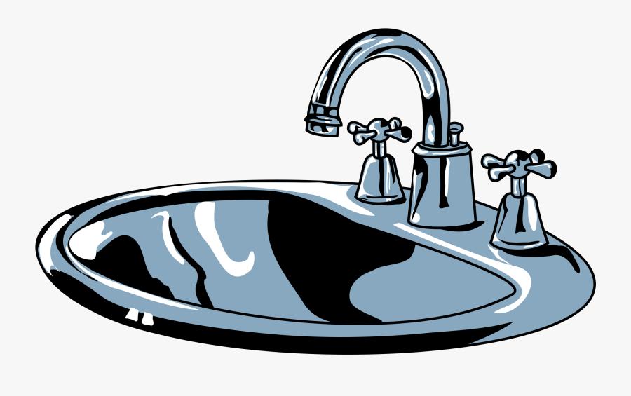 Terrific Clean Bathroom Clip Art Pictures Decors - Sink Clipart, Transparent Clipart