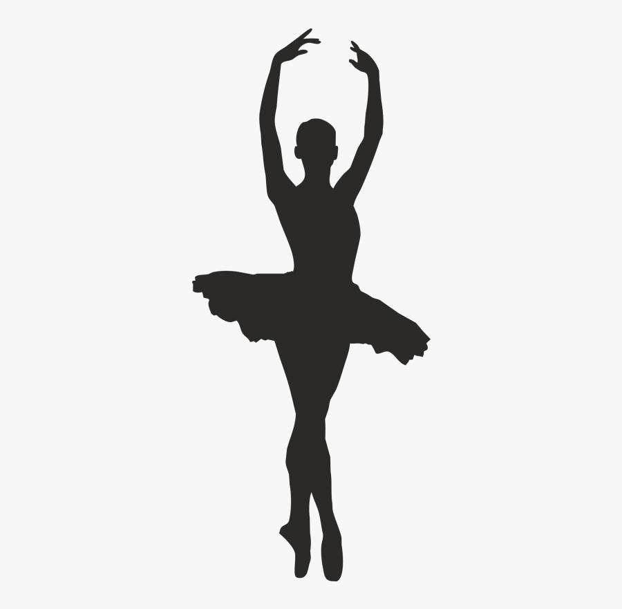 Dance Clipart Ballet Silhouettes - Silhouette Ballet Dancer, Transparent Clipart