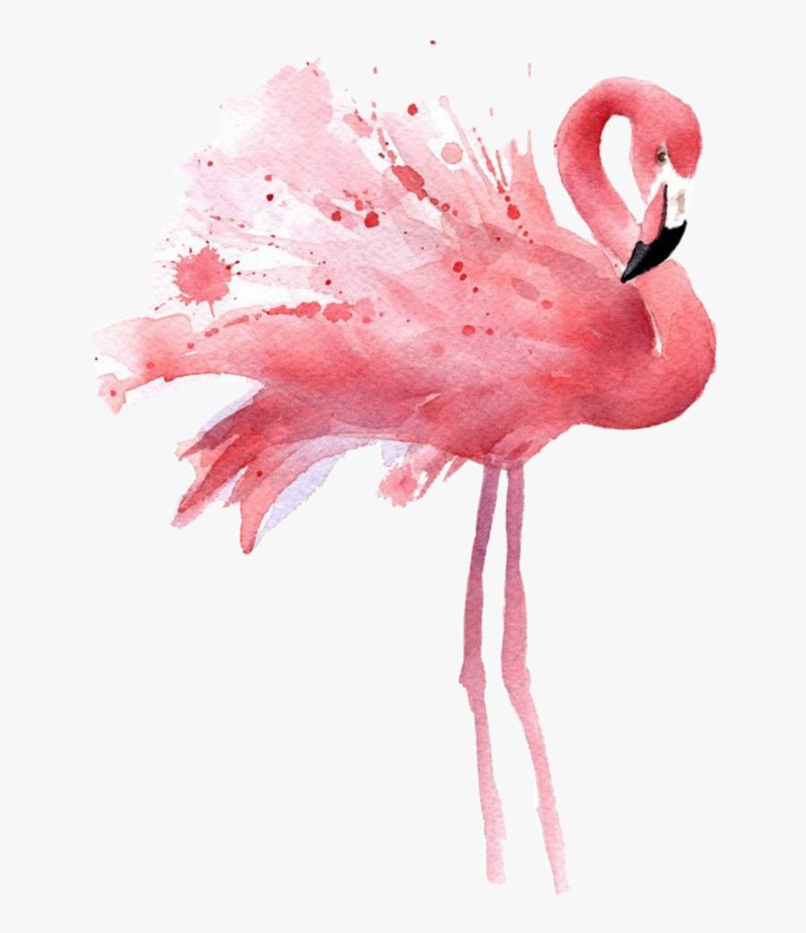 Flamingo Clipart Gold - Pink Flamingo Art, Transparent Clipart