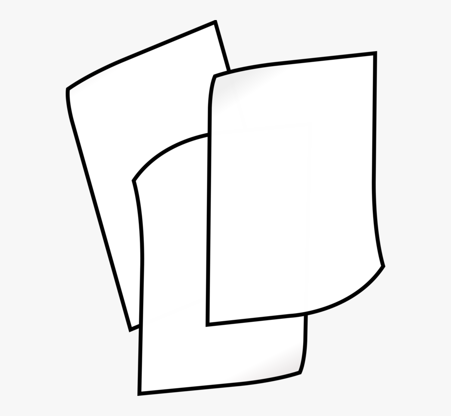 Line Art,square,angle - Paper Clipart Black And White, Transparent Clipart