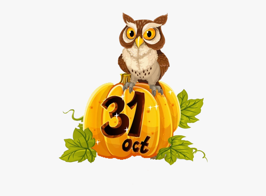 Halloween October 31 Clip Art - Halloween October 31st, Transparent Clipart