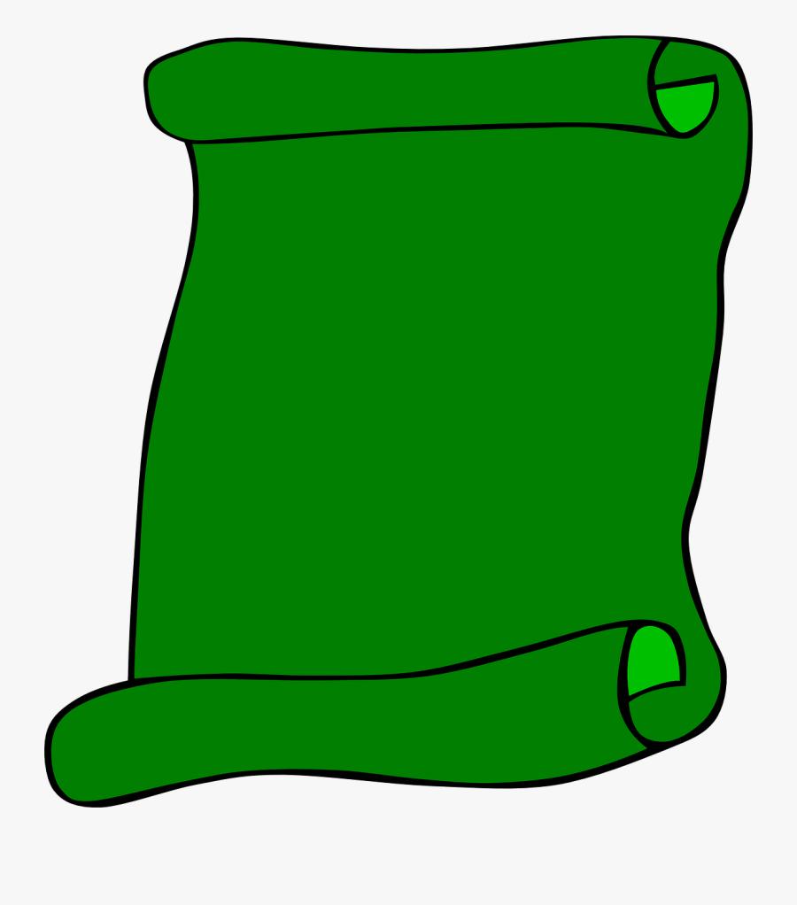 Colored Paper Clip Art - Paper Clip Art Green, Transparent Clipart