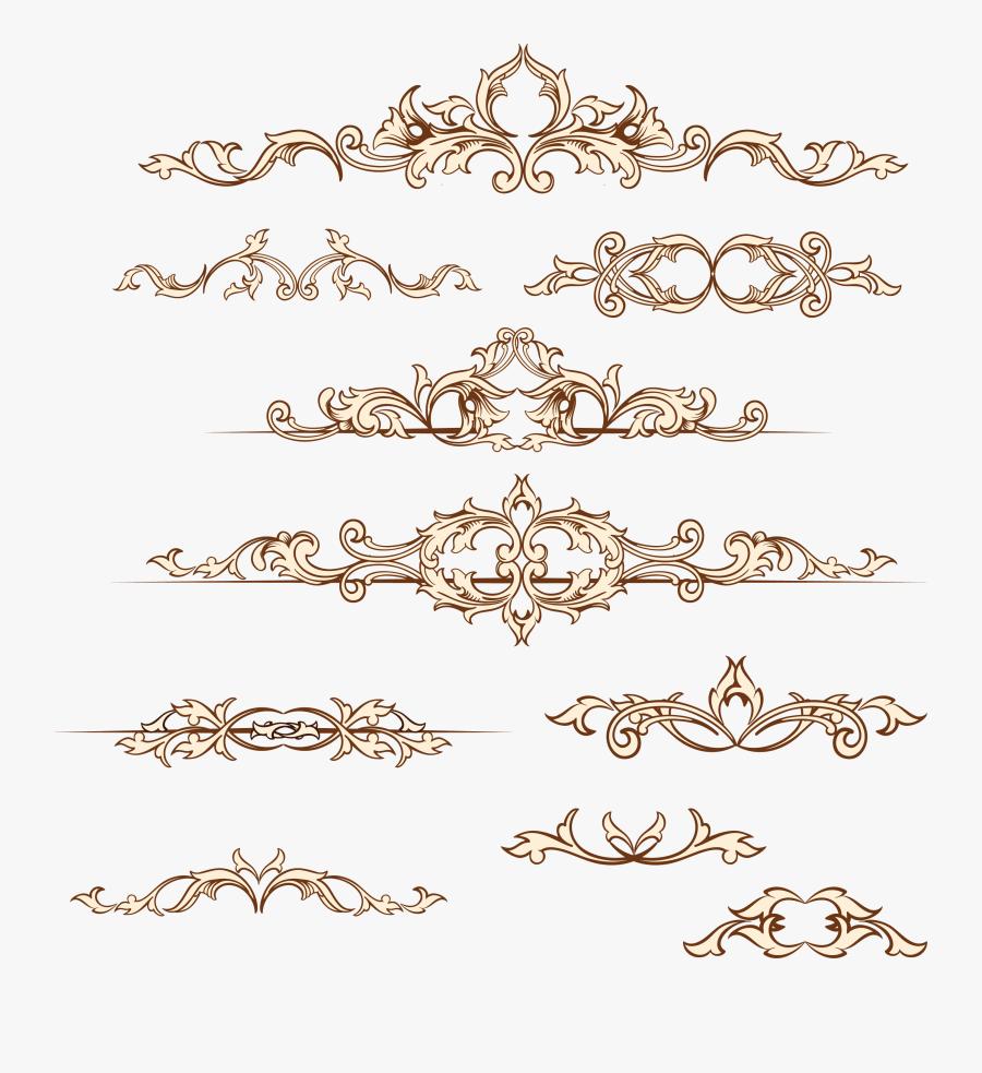 Transparent Paper Clip Clipart - Wedding Invitation Border Design Png, Transparent Clipart