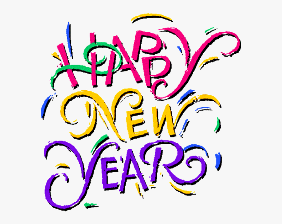Transparent New Year Backgrounds - Happy New Year 2011, Transparent Clipart
