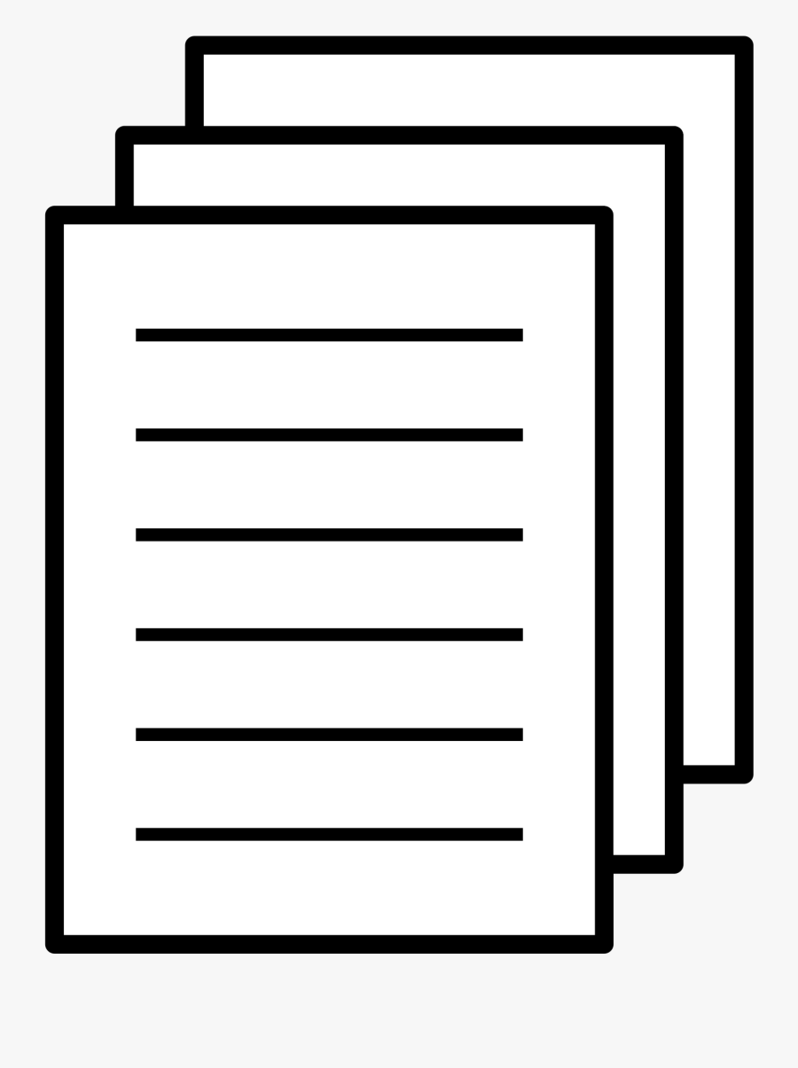 Paper Clipart Worksheet - Paper Icon Clipart, Transparent Clipart