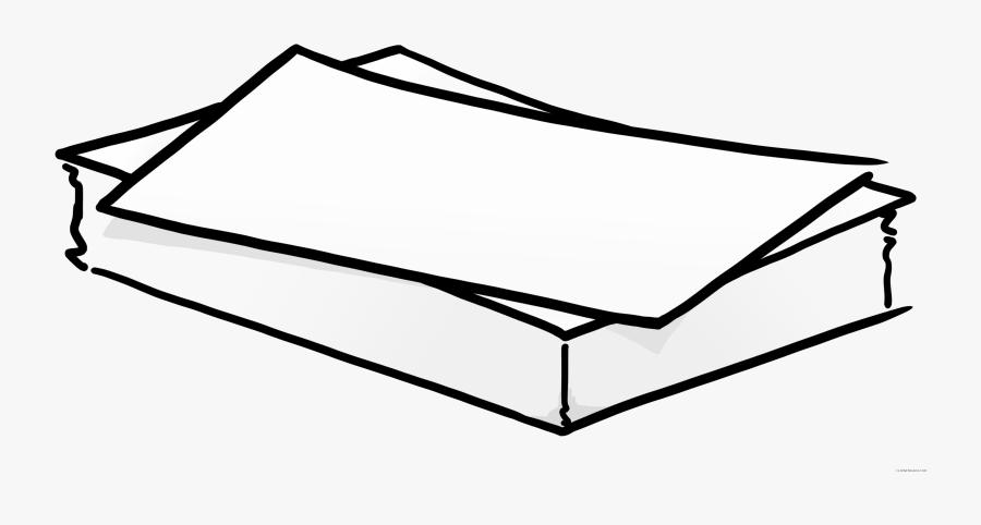Graphic Royalty Free Clipartblack Com Tools Free Black - Clip Art Stacks Of Paper, Transparent Clipart