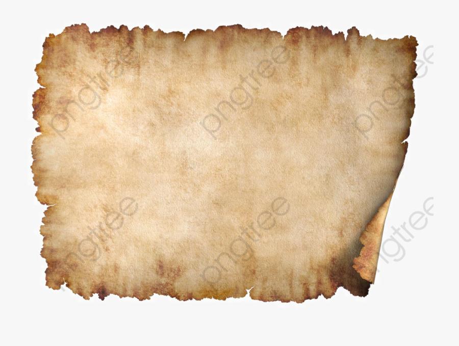 Paper Clipart Old - Parchment Paper Background, Transparent Clipart