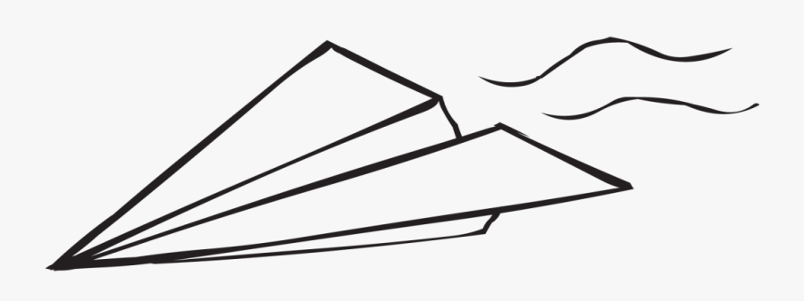 Png Photo, Paper Plane, White Paper, Clip Art, Aircraft, - Paper Airplane Flying Clipart, Transparent Clipart