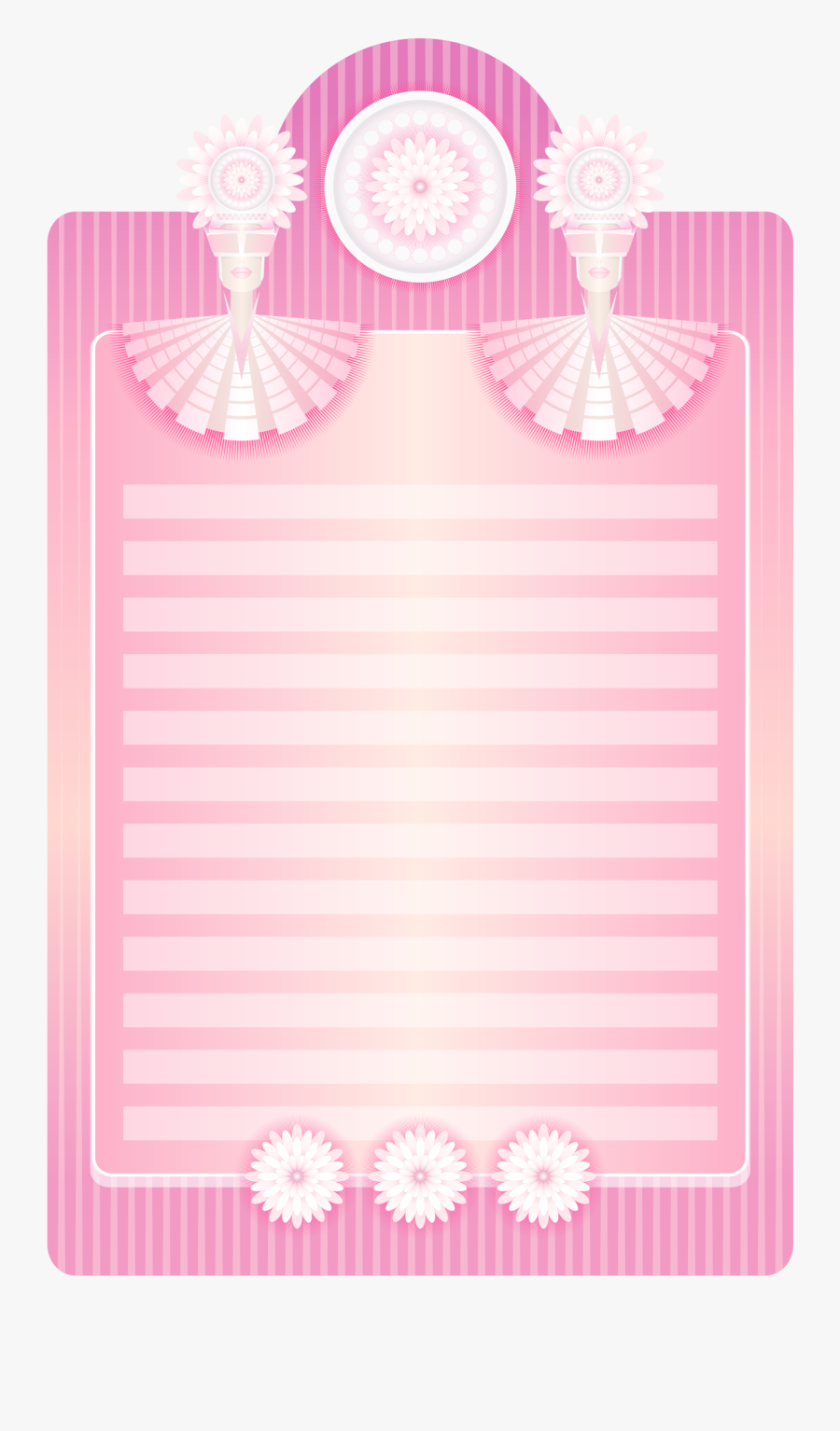 Pink,picture Frame,rectangle - Notebook Drawing Pink, Transparent Clipart