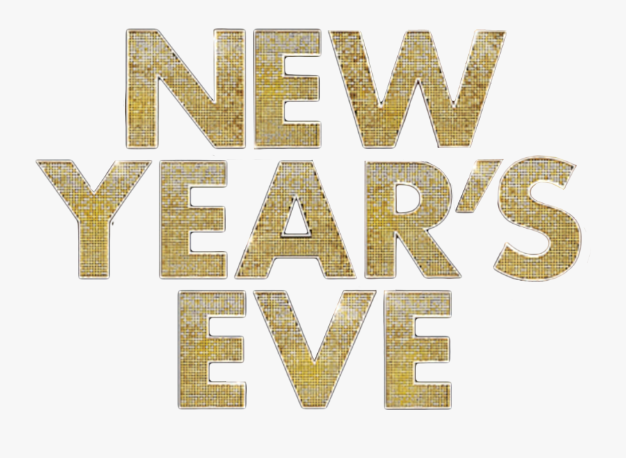 New Year Party Transparent & Png Clipart Free Download - New Year Eve Text, Transparent Clipart
