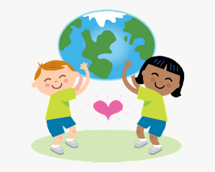 Clip Art Transparent Library Huge - Earth Day Clip Art For Kids, Transparent Clipart