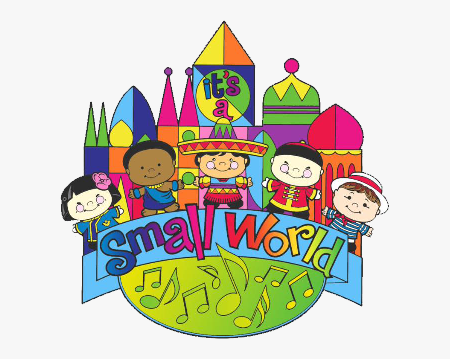 Its A Small World Clipart - Disney It's A Small World Clipart, Transparent Clipart