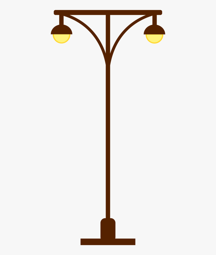 Street Lamp Post Light Post Two Lights Gambar Lampu Taman Animasi Free Transparent Clipart Clipartkey