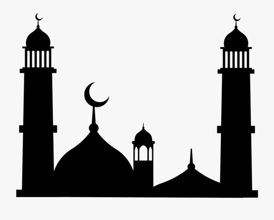 Masjid, Muslim, Clipart, Islamic, Islam, Arabic, Mosque - Mosque Clipart, Transparent Clipart