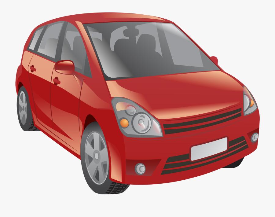 Red Car Png Clipart - Car Png Clip Art, Transparent Clipart