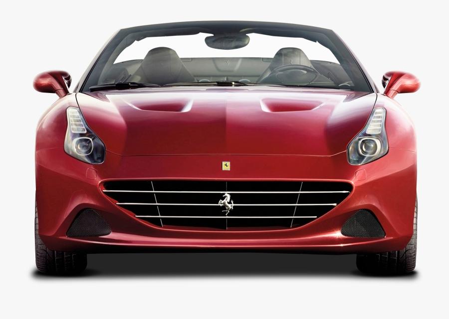Png Images Free Download - Ferrari California Front View, Transparent Clipart