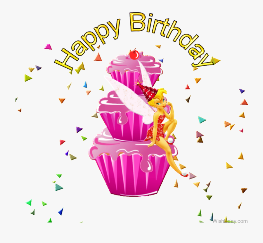 Transparent Tinkerbell And Friends Png - Tinkerbell Birthday Wishes, Transparent Clipart