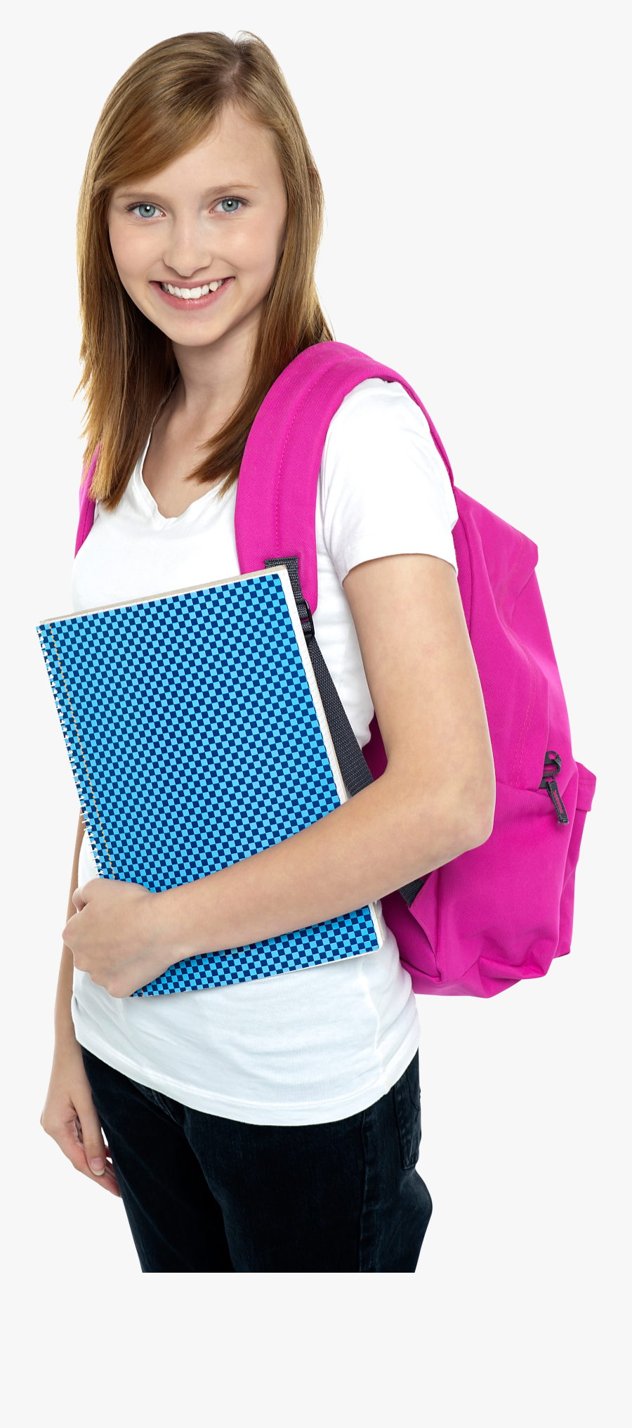 Young Girl Student Png Image - Student, Transparent Clipart