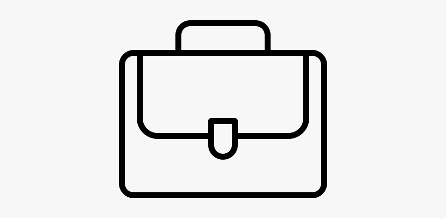Outline Of School Bag, Transparent Clipart