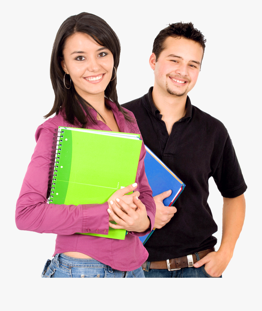 Female Student Png Image - Student Boy & Girl, Transparent Clipart
