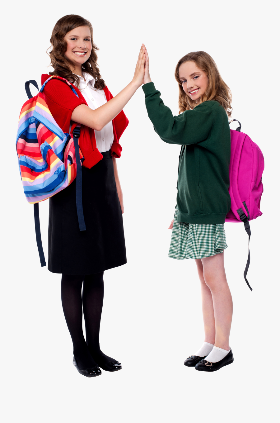 Woman Student Png - School Students Image Hd Png, Transparent Clipart
