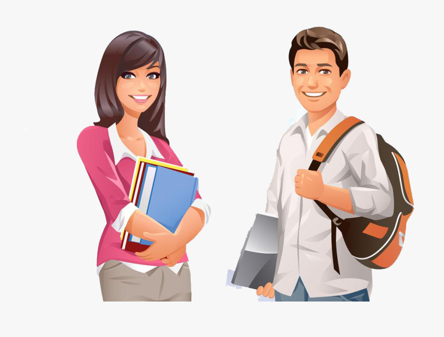 Student Png Image Collections For Download - College Students Clipart Png, Transparent Clipart