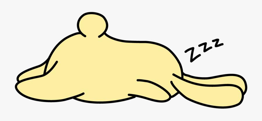 Transparent Zzz Sleep Png - Sleepy Bunny Clip Art, Transparent Clipart