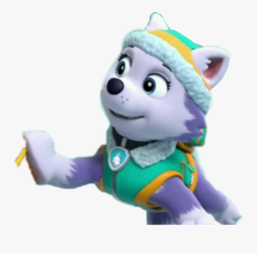 Everest Paw Patrol Png - Rubble Zuma Paw Patrol, Transparent Clipart