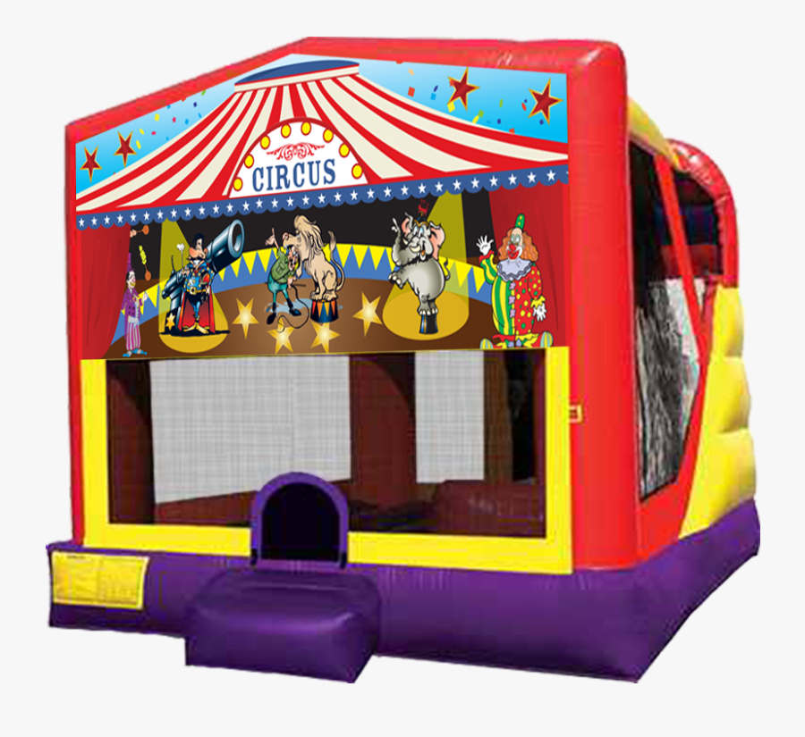 Circus Big Top 4 In 1 Combo Inflatable Rentals In Austin - Elena Of Avalor Bounce House, Transparent Clipart