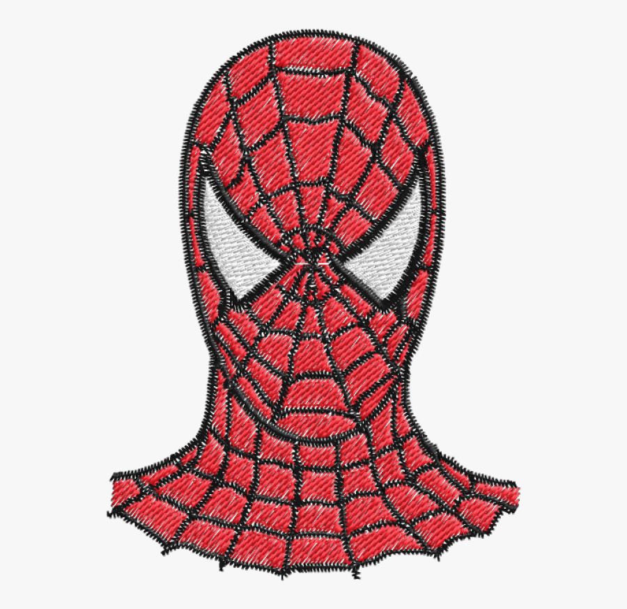 How To Draw Spider-man Drawing Image - Draw Spider Man Face, Transparent Clipart