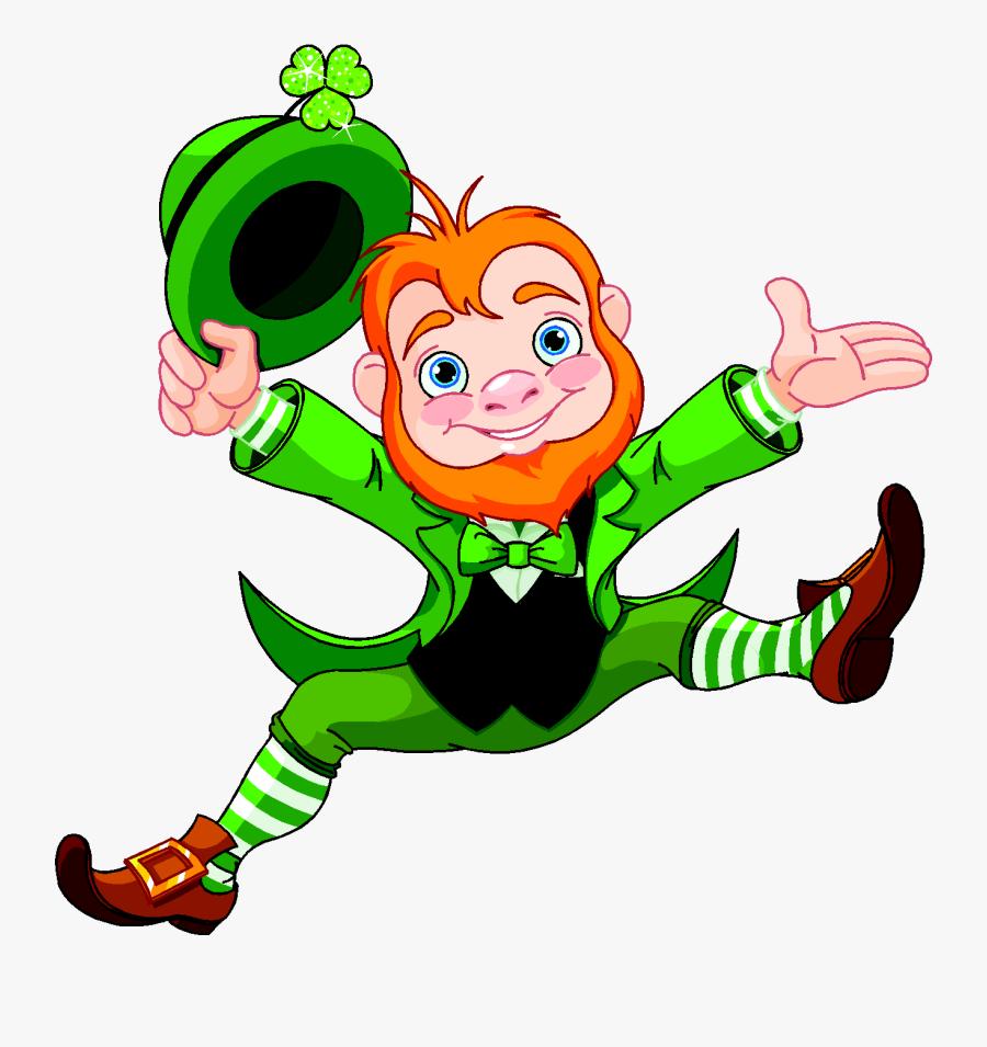 Leprechaun Png - Leprechaun Png - St Patrick's Day Leprechaun, Transparent Clipart