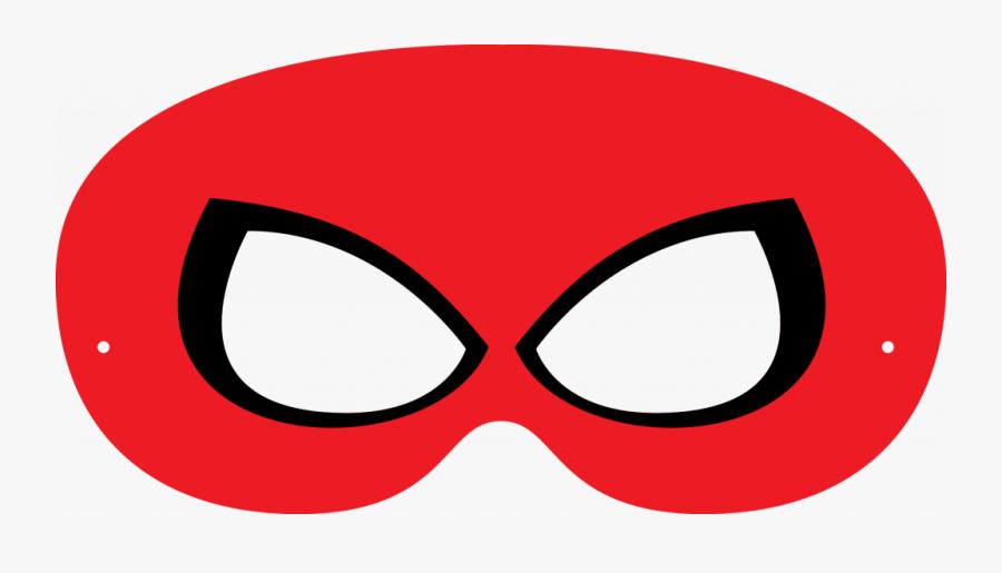 Spiderman Half Mask Template , Free Transparent Clipart ...