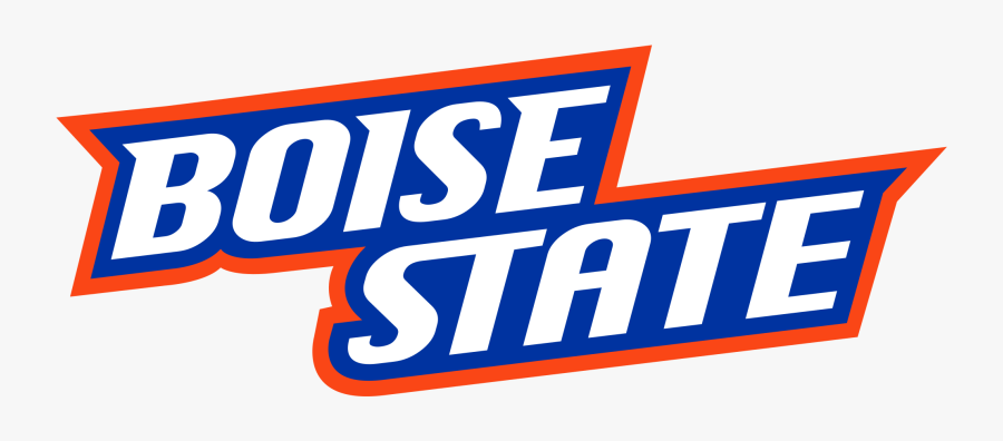 File Boise State Text Logo Svg Wikimedia Commons Printable - Boise State Broncos Football Logo, Transparent Clipart