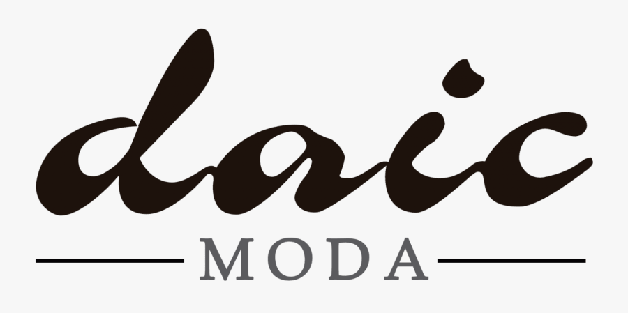 Daic Moda - Calligraphy, Transparent Clipart