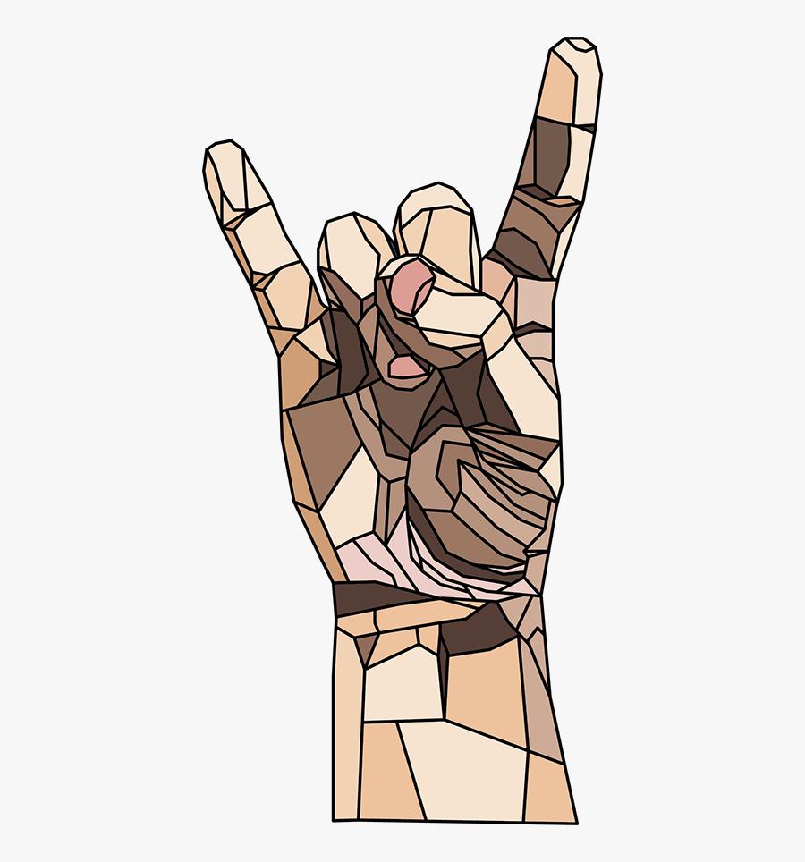 Clip Art Rock Music Symbols - Cartoon, Transparent Clipart