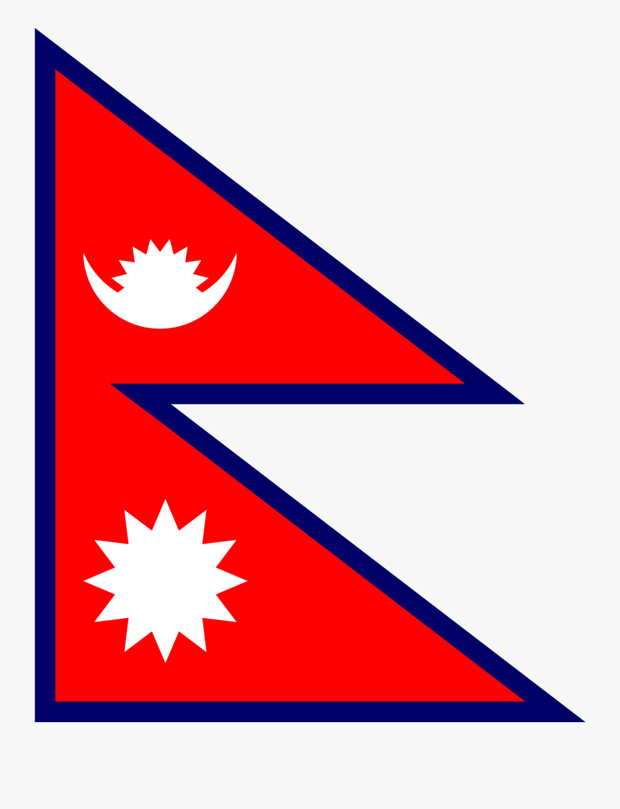 Nepali Flag Png Clipart , Png Download - Make A Nepal Flag, Transparent Clipart
