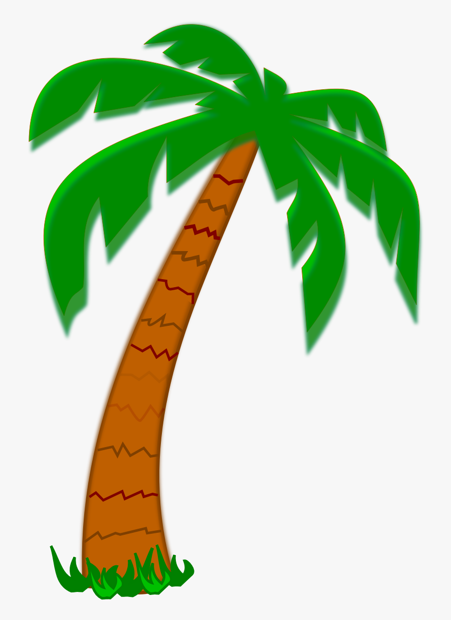 Date Palm Tree Clipart - Palm Tree Clipart Png, Transparent Clipart