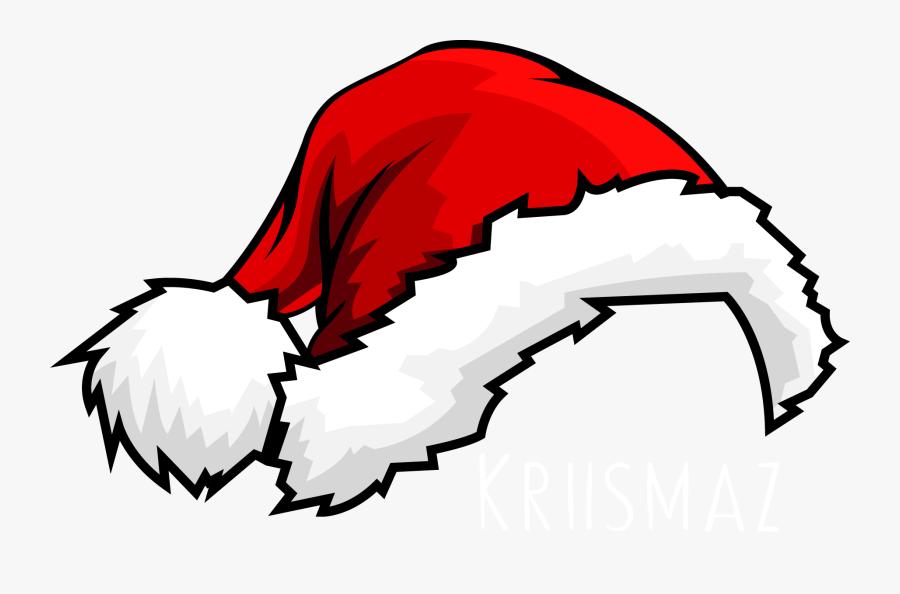 Letter Burning Claus Santa Suit Hat Christmas Clipart - Cartoon Transparent Santa Hat, Transparent Clipart