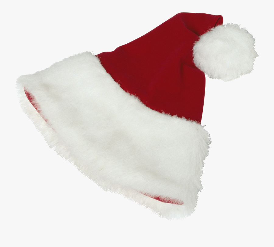 Santa Claus Hat Png - Шапка Деда Мороза, Transparent Clipart