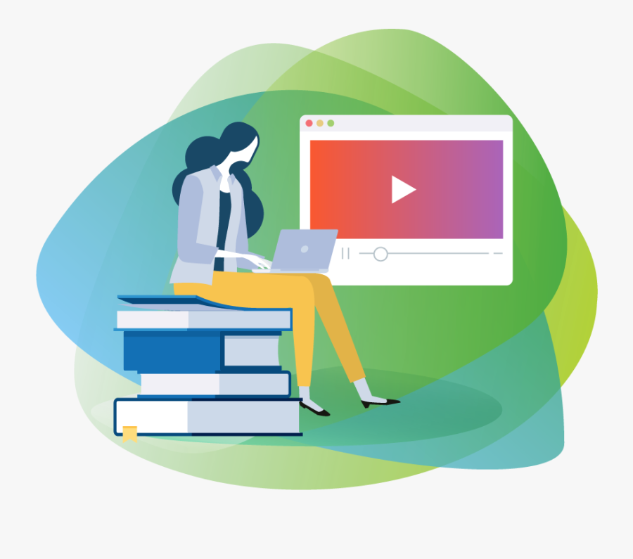 Online Learning Paths Eduplanet - Illustration, Transparent Clipart