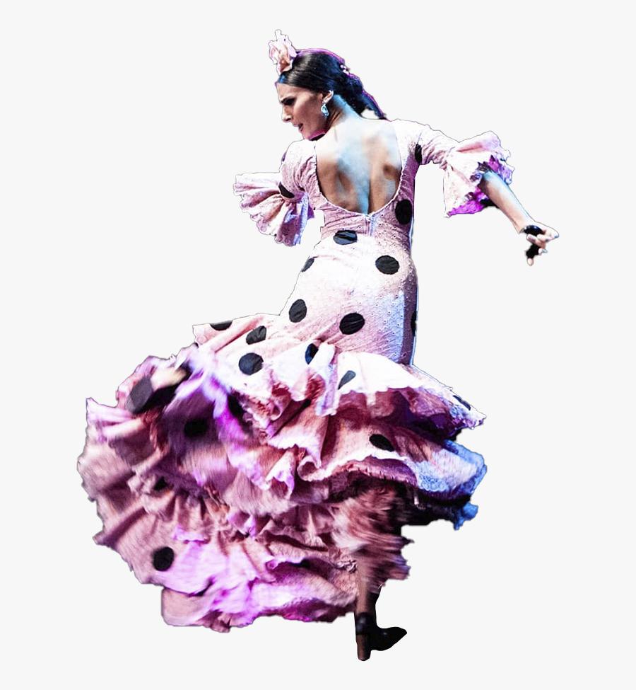 Transparent Flamenco Dancer Clipart - Flamenco, Transparent Clipart