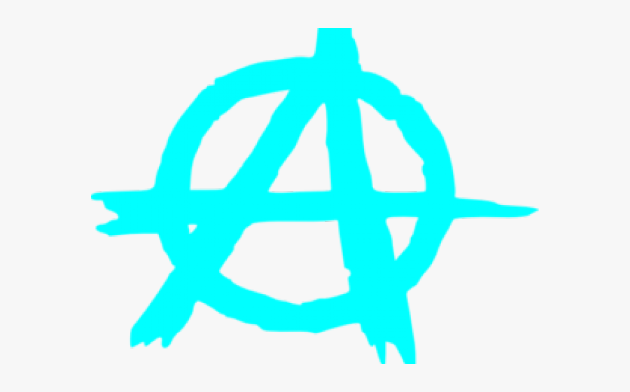 Clipart Wallpaper Blink - Anarchy Symbol, Transparent Clipart